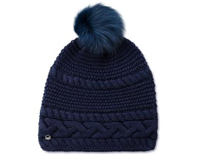 Cable Beanie Navy
