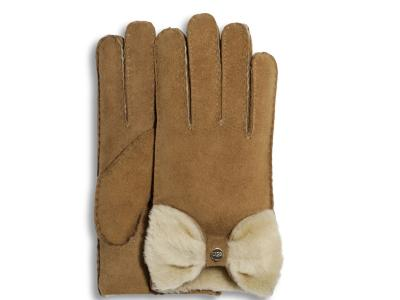 Bow Glove Chestnut